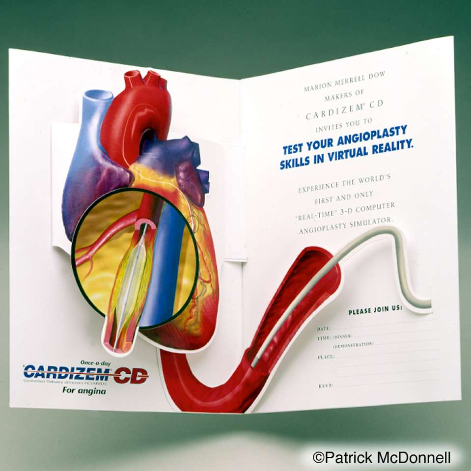 Cadizem CD Heart card